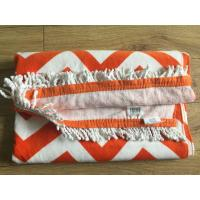 Quality 100% Cotton Extra Large Custom Printed Rectangle Beach Towel with Tassels wholesale turkish towel wholesale