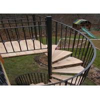 China Staircases for small spaces non slip stair treads spiral stairs outdoor spiral staircases on sale