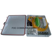 Buy cheap Fiber Optic Termination Box 96 Core With 1:64 PLC ABS Module Type For FTTX from wholesalers