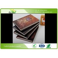 Quality Glossy Lamination Hard Cover Notebook , Full Color Hardcover Exercise Book wholesale