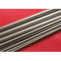 Quality Plain Stainless Steel Threaded Rod Grade A2 / A4 M100 wholesale