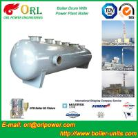 Cheap Silver Oil Fired Boiler Steam Drum SGS Certification Excellent Performance for sale