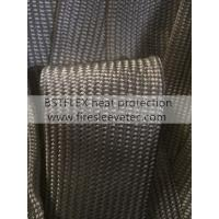 China Fiberglass Braided High Temperature Heat Resistant Sleeve on sale