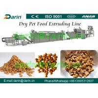 Quality Dog / cat / bird / fish / Pet Food Making Machine - China Pet Feed Production Line with WEG Motor Three Year Guarantee wholesale