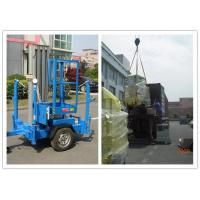 Quality Trailer Type Vertical Mast Lift , 6 Meter Personnel Lift Platform For Outdoor Working wholesale