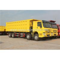 Buy cheap SINOTRUK HOWO 8X4 12 Wheelers Dump Truck For Mining Site And Construction Project from wholesalers