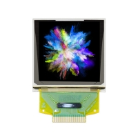 Quality 1.5inch 128x128 240mA 2.8V 90cd/M² Full Color OLED Display wholesale