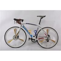 Quality Wholesale 6061 aluminium alloy 700C racing bike/bicicle with Shimano Tiagra 16 speed and magnesium alloy one wheel wholesale