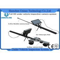 Quality 7 Inch Under Vehicle Inspection Camera Dvr System With Waterproof and Multiple Language wholesale