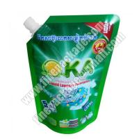 Quality liquid soap packaging, stand up spout pouch bag for liquid, liquid packaging wholesale