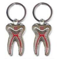 Quality Dental Keychain For Dentist Team Gift Molar Tooth wholesale