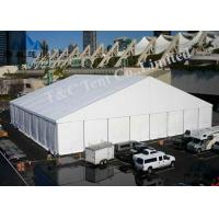 Aluminum Frame Trade Show Tents 100KM / H Wind Load For Promotional Activities