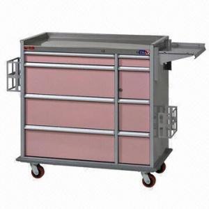 China Hospital Trolley, Medicine Cart, Multipurpose Drawers on sale
