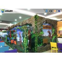 Quality Interactive 7D Movie Theater Box With Specail Design , Like Dinosaur Box wholesale