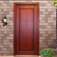 Quality villa first choice 2015 new design front timber entrance door wholesale