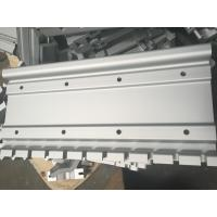 Silver Color Industrial Aluminum Profiles With CNC Drilling for sale