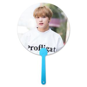 Quality 17x17cm Flip &3D lenticular hand fan for Korea Star Promotional 3D Hand Fan for Kpop Idol wholesale