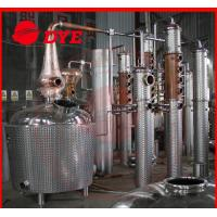 Quality Stainless Steel Alcohol Commercial Distilling Equipment 200L - 5000L wholesale
