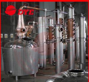 Quality Miniature Copper Commercial Distilling Equipment  200L - 5000L wholesale