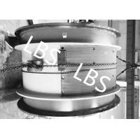 Quality Heavy Steel Wire Rope Winch Drum With Lebus Double Broken Line Rope Groove wholesale