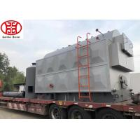 China Q245R Steel Plate Coal Steam Boiler Fired Package Steam Boiler Packaged Style on sale