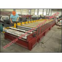 Quality Cameroun Aluzinc Roofing Sheet Roll Forming Machine With Electric Decoiler wholesale