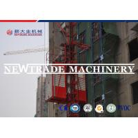Quality Sc200 2*11kw Motor Grader Conversion Construction Material Hoist With Double Cage wholesale