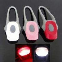 China LED Bicycle Light Set, White Front LED and Red Back LED, Steady-flashing-off Function on sale