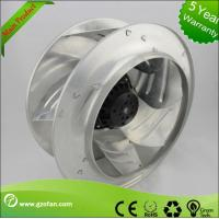 Quality 355mm Air Conditioning EC Motor Fan , Backward Curved Blower High Volume wholesale