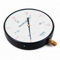 Quality Plastic Manometer/Pressure Gauge with Brass or Stainless Steel Connector wholesale