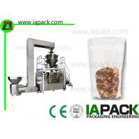 China Pneumatic Pouch Packing Machine Doypack With Zipper Pouch Rotary Packing Machine on sale