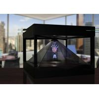 Holographic Pyramid 3D hologram box for Product Presentation , View from 4 Sides