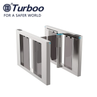 Buy cheap 10MM Acrylic Office Security Gates Brushless Motor Automatic Intelligent Systems from wholesalers