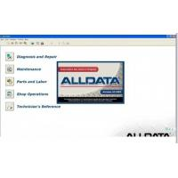 Cheap Alldata V10.52 Automotive Diagnostic Software For Cars / Light Trucks for sale