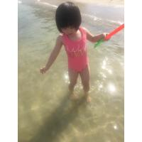 Quality Little Girls Solid Color Basic Bikini Bathing Suits , Womens One Piece Bathing Suits wholesale