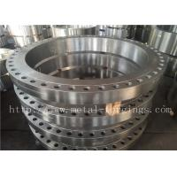 Quality SA182- F316  F316L Forged Stainless Steel Flange Max OD 2500mm wholesale