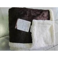Quality Blanket Micro Mink to Sherpa Throw wholesale