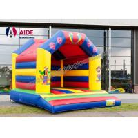 Quality Cartoon Inflatable Bouncy Castle Rental , Outdoor Play Equipment For Toddlers wholesale