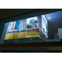 China High Definition Transparent LED Display Hanging / Stacking Installation For Stations on sale