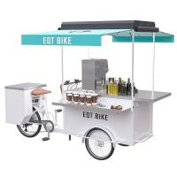 China Electric 250W Drink Bike Large Operation Space For Street Drinking Vending on sale