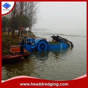 China hot sale aquatic weed harvesting equipment trash skimmer machine supplier on sale