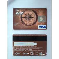 Quality Prepaid debit card / visa smart card customer design PVC material wholesale