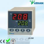 Quality Economic Relay / SSR Digital Temperature Controller AI-208 with 0 - 2 alarm wholesale