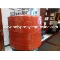 Green Color Raw Polypropylene Baler Twine 180LB Breaking Strength For Banana Tree Rope