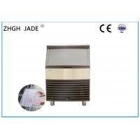 China Automatic Air Cooled Ice Machine , SS304 Shell Commercial Ice Machine on sale
