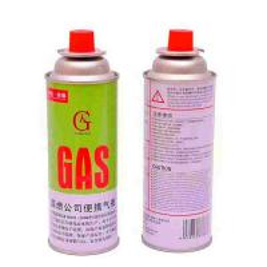 China Low pressure empty gas bottle butane gas cartridge on sale
