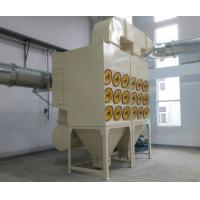 Quality Sand Blast Room Dust Collector Machine , Cartridge Filter Industrial Dust Collection Systems Low Noise wholesale