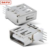 Quality Type A Usb Cable Male Female Connector Side Plug Type With Vertical Socket wholesale