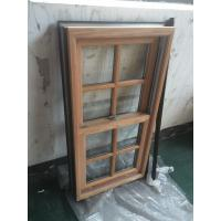 Quality Powder Coating / Wooden Grain Aluminium Window Profiles GB / T6892-2006 wholesale