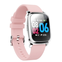 Quality IP68 Zinc Alloy 240x240 Ble 5.0 Female Smart Watch wholesale